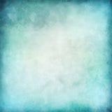抽象蓝色传染媒介水彩背景 皇族释放例证