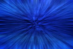 抽象蓝色作用缩放 免版税库存照片