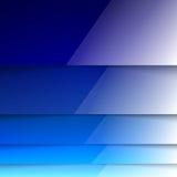 抽象蓝色光亮的长方形塑造背景 库存照片