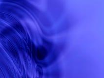 抽象蓝色光波 向量例证