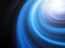 抽象蓝色光 向量例证