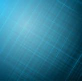抽象蓝色发光的被弄脏的线路 库存图片