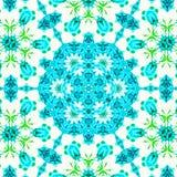 抽象蓝色和白色样式背景纹理 免版税图库摄影