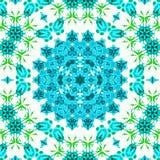 抽象蓝色和白色样式背景纹理 库存照片
