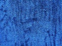 抽象蓝色地毯纹理背景关闭 免版税库存图片