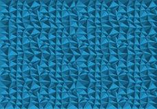 抽象蓝色多角形样式背景纹理传染媒介 免版税库存图片