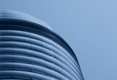 抽象蓝色大厦 库存照片