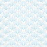 抽象蓝色无缝的样式 皇族释放例证