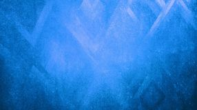 抽象蓝色晾干锋利在蓝纸背景墙纸反射的三角纹理 向量例证