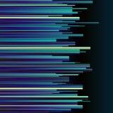 抽象蓝色条纹减速火箭的五颜六色的背景 免版税库存图片