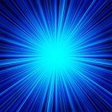 抽象蓝色条纹爆炸背景 库存照片