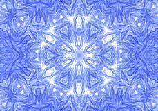 抽象蓝色样式背景 免版税库存照片
