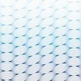 抽象蓝色波浪艺术线样式背景 免版税库存照片