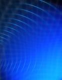 抽象蓝色漩涡 库存图片
