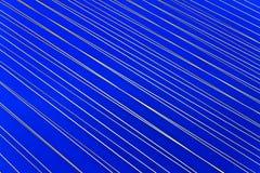 抽象蓝色灯光管制线白色 库存照片