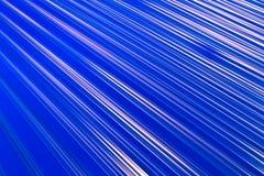 抽象蓝色灯光管制线白色 免版税库存照片