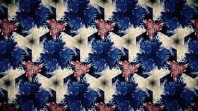 抽象蓝色白色颜色样式墙纸 免版税图库摄影
