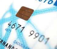 抽象蓝色看板卡赊帐照片 免版税库存照片