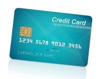 抽象蓝色看板卡赊帐照片 库存图片