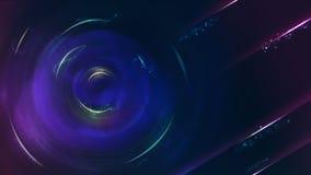 抽象蓝色科学幻想小说题材背景, 16:9比率 免版税库存图片