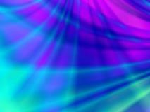 抽象蓝色红色和绿灯 库存例证
