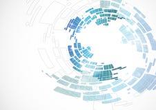 抽象蓝色背景。 免版税库存照片