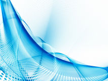 抽象蓝色背景元素 免版税图库摄影