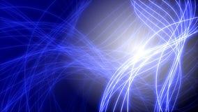 抽象蓝色背景的动画 皇族释放例证