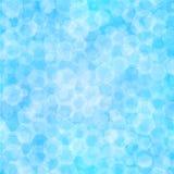 抽象蓝色背景,传染媒介例证 免版税库存图片
