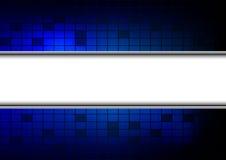 抽象蓝色背景 库存例证