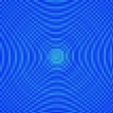 抽象蓝色遮蔽马赛克背景 库存图片