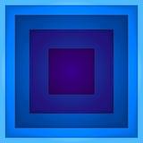 抽象蓝色长方形塑造传染媒介背景 免版税库存图片