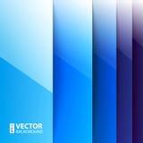 抽象蓝色长方形塑造背景 免版税库存图片