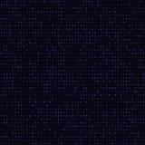 抽象蓝色颜色霓虹小点,被加点的技术背景 发光的微粒,被带领的轻的样式,未来派纹理 库存例证