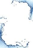 水飞溅框架 库存照片