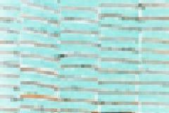 抽象蓝色马赛克块 库存照片