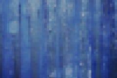 抽象蓝色马赛克块 图库摄影