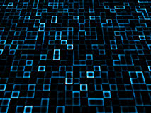 抽象蓝色黑暗 免版税库存图片