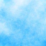抽象蓝色水彩背景 库存照片