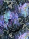 抽象蓝色紫罗兰色装饰纹理,背景 免版税图库摄影