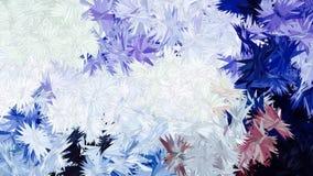 抽象蓝色紫色颜色样式墙纸 免版税库存图片