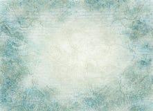 抽象蓝色grunge被弄脏的纹理 免版税库存照片