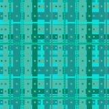 抽象蓝绿色细胞 图库摄影