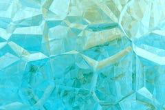 抽象蓝绿色3D背景 库存图片