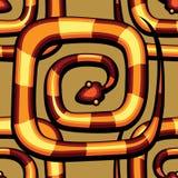 抽象蛇样式 库存照片