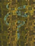 抽象蛇 库存照片