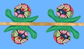 抽象蜗牛线索 免版税图库摄影