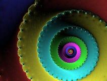 抽象蜗牛 免版税库存图片