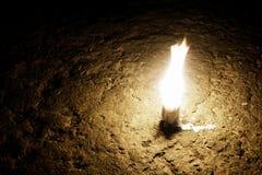 抽象蜡烛光 库存照片