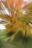 抽象螺旋五颜六色的秋天背景 库存照片